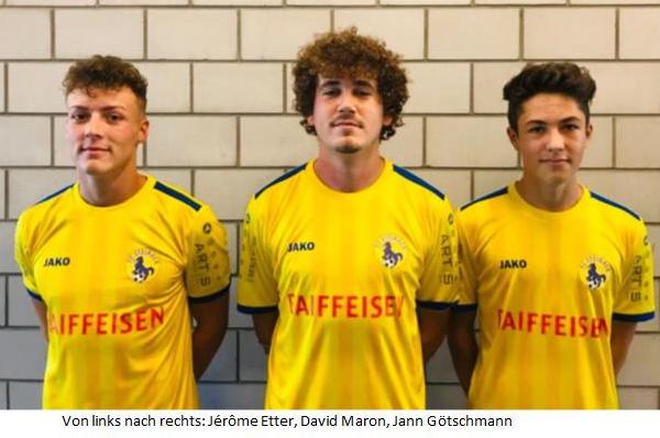FC Steinach stellt seine Neuzugänge vor
