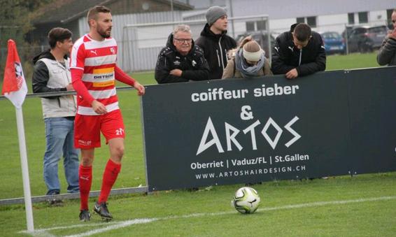 Sandro Lüchinger wechselt zurück zum FC Montlingen